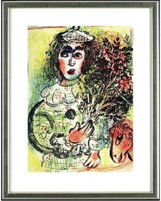 Chagall_Clown_fleuri
