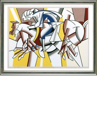 Lichtenstein_Red_Horseman