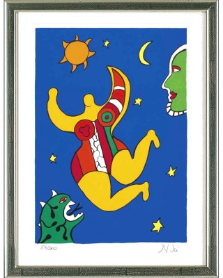 Niki de Saint Phalle_Flying Nana
