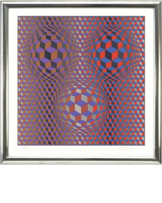 Vasarely_rot violett Shop