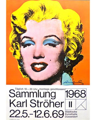 Warhol Marilyn orange 1969